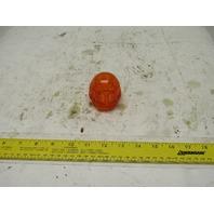"Midget Beacon Alert Strobe Light Globe 2"" Base Amber Thermoplastic"