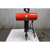 "CM Lodestar Classic Model R  2 Ton 460V Electric Chain Hoist 9'10"" Lift"