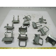 "Unistrut P2786 5"" C-Channel Strut Beam Clamp Lot of 12"