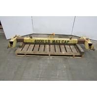 """2 Ton 4000lb Capacity Twin Basket Sling Lifting Beam 96"""" Spreader Bar"""
