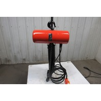 CM Lodestar Model RR 2 Ton 2Hp Electric Chain Hoist 230/460V 3Ph 22' Lift 16FPM