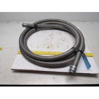 "1"" Aluminum Flexible Convoluted Wire Conduit 19'"