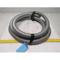 "1-1/2"" Aluminum Flexible Convoluted Wire Conduit 13'"