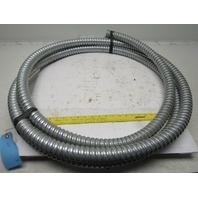 "1-1/2"" Aluminum Flexible Convoluted Wire Conduit 21'"
