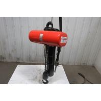 CM Lodestar RR2 2 Ton Electric Chain Hoist 2 Speed 5/16 FPM 460V 3Ph 20 Lift