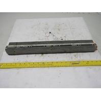 "WAGO IEC 60947-7-1 IEC 947-7-2 DIN Rail Terminal Block Strip 20A 22"" OAL"