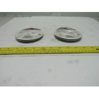 """Red Dot RS1WH 1/2""""  Lampholder Cover Wet Location White Lot Of 2"""