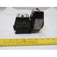 Allen Bradley 3TF4010-0A Contactor W/3UA50 00-1F 3.2 to 5A Overload Relay