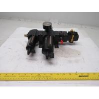 Norgren B74G-3AK-QD3-RMG L74M-3AP-QDN FRL Filter Regulator Lubricator Assembly