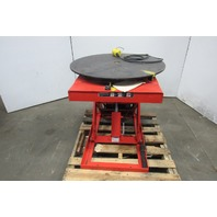 "Presto XL24-20 2000 LB 32"" Dia. Scissor Lift Turn Table 9-3/4""-33-3/4"""" Height"