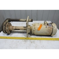 "Gusher 11019AVD-SE-A-6 5Hp 2x1-1/2"" Vertical Centrifugal Pump 208-230/460V 3PH"