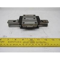 """Rexroth R165129420 (1) Linear Guide Bearing Block W/6-7/8"""" Rail"""
