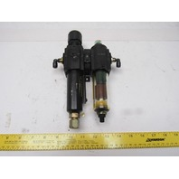 """Norgren B72G-2GK-AE1-RMN F72C-2G)-A1 Pneumatic Filter Regulator 1/4"""" NPT"""