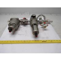 SMC AW60-N06D-Z, AMG450C-N06D,  VHS50-N06-Z Shut off Filter Regulator Assembly