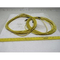 Turck RK 4.ST-RS4.5T/S2501 5 Pole Cable Assembly Lot of 2