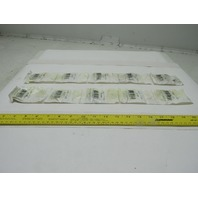 """The General 1615DS 0.4375x1.125x0.375"""" Deep Groove Ball Bearing Box of 10"""