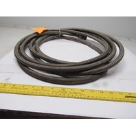 24' Stainless Steel Braided Teflon Line/Hose  AN10 W/Straight Fittings