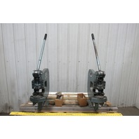 "Roper Whitey Pexto Model 218 4 Ton Hand Press Sheet Metal Bench Punch 12"" Throat"