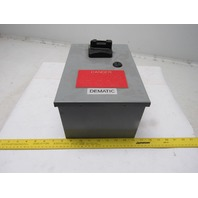 Allen Bradley 154-A11NB 3Ph 480V 7.5Hp Motor Starter In Enclosure W/ Disconnect