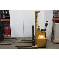 Big Joe PDM 30-130 Power Drive Stacker Electric Straddle Pallet Lift 3000Lbs Cap