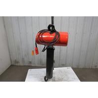 "CM Lodestar Model RR 2 Ton Electric Chain Hoist 15' 4"" Lift 16FPM 240/480V 3PH"