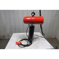 "CM Lodestar Model L 1 Ton 1Hp Electric Chain Hoist 230/460V 3Ph 20'6"" Lift 16FPM"