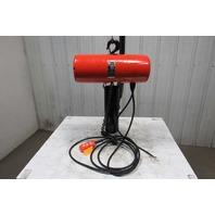 "CM Lodestar Model L 1Ton 1Hp Electric Chain Hoist 230/460V 3Ph 20'10"" Lift 16FPM"