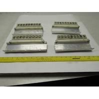 Allen Bradley 1492 Style CE Din Rail Terminal Strip Fuse Block Lot of 35
