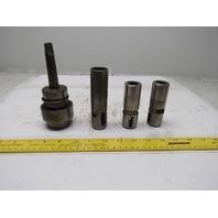 Scully Jones #2 19122 #2 Morse Taper MT2 Ball Lock Adapter 3 Adapters
