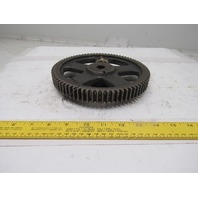 """749A 8"""" External Tooth Spoked Drive Gear 79T 15/16"""" Wide 3/4"""" Keyed Bore"""