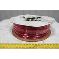 "1A-005-25 3/8"" x .245"" Polyurethane Tubing 90A Transparent Red 436'"