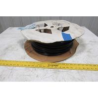 "Freelin Wade 1/2"" OD x 0.62"" Wall Black Polyethylene Airline Tubing 150PSI 124'"