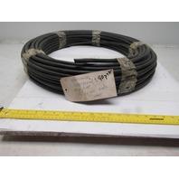 "Parker Parflex 1/2"" OD x 0.62"" Wall Black Polyethylene Airline Tubing 90PSI 100'"