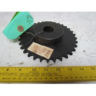 """#50 Single Row Roller Chain Sprocket 33T 1-3/16"""" Bore"""