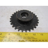"""#40 Single Row Roller Chain Sprocket 28T 1-3/16"""" Bore"""