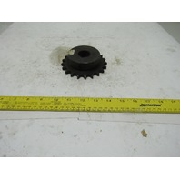 """#50 Single Row Roller Chain Sprocket 21T 1-1/8"""" Bore"""
