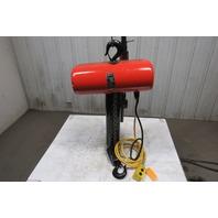 "CM Lodestar RR 2 Ton 2Hp Electric Chain Hoist 208-230/460V 3Ph 16' 8"" Lift 16FPM"
