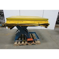 "Lift Products 2000 LB 60""x48"" Scissor Lift Turn Table 9-1/2""-45"" Height 460V 3Ph"