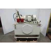 Morrell 10Hp Hydraulic Power Unit 60 Gal 460V Pump AA10VS0450R/31R-PKC62N00