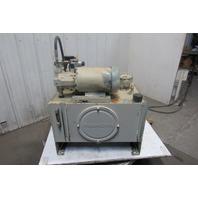 Rexroth 5Hp 30 Gallon Hydraulic Power Unit Station W/Pump A10VS018DR/31RPKC62N00