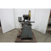 "Kalamazoo 18"" Chop Type Single Cut -Off Saw 208-230/460V 3Ph Parts or Repair"
