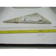 """Dematic 0688162554 UHMW Scuff Plate Right Hand 5/8"""" x 17-3/16"""" x 9-15/16"""""""