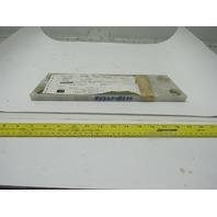 """Dematic 0688162558 UHMW Scuff Plate 5/8"""" x 4"""" x 14-3/16"""""""