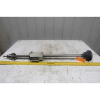 """Mitsubishi 37-1/4"""" X Axis Ball Screw Assembly From a M55K EDM"""