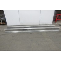 Gorbel Monorail 12' Aluminum Enclosed Runway Beam Track 500lb Cap. Lot of 2