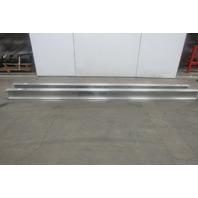 Gorbel Monorail 13' Aluminum Enclosed Runway Beam Track 500lb Cap. Lot of 2