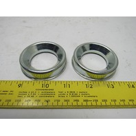 "Dematic 0163100035 Bearing Adaptor 1-1/2"" ID Bore  2-3/8"" OD  Lot Of 2"