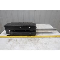 """Dematic Conveyor Belt Take Up Assembly Weldment & 12"""" Stroke Cylinder"""