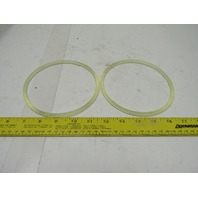 Dematic 0276656166 1/4 X 16-5/8 83A Urethane Endless O-Ring Band Lot of 2