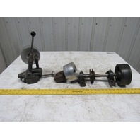 "2"" Industrial Belt Sander Kit Head, Tail, & Idler Pulleys W/Shafts & Bearings"